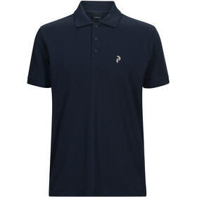 Peak Performance Classic Polo Piqué Hombre, blue shadow